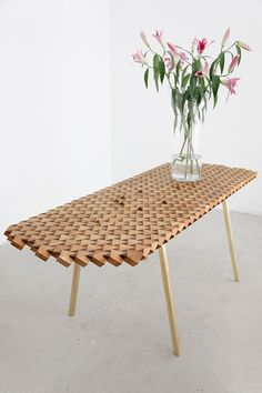 A Table Made Of Cubes, And Ultra Intricate Geometry