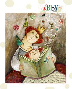 Postal IBBY (Día Internacional del Libro Infantil)