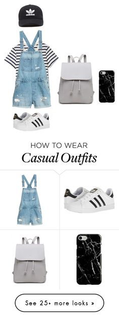 """""""Casual Adidas"""" by sarahmrachel on Polyvore featuring adidas, adidas Originals and Recover"""