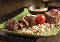 This summertime staple offers juicy, rich flavor while keeping it healthy. Fresh veggies and chunks of sirloin are soaked in Mrs. Dash® Original Blend to bring out flavors. Shishkabobs Recipe, Dash Recipe, Low Salt Recipes, Low Sodium Recipes, Sodium Foods, Kabob Recipes, Beef Recipes, Low Iodine Diet, Kidney Friendly Foods