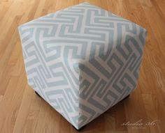 Reupholster Ottoman No Sew