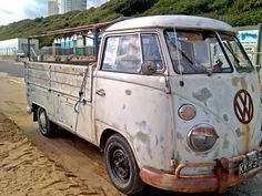 Bournemouth: old VW van