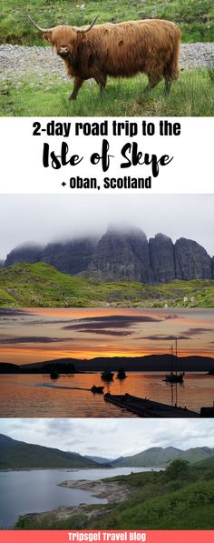 2-day the Isle of Skye itinerary: Edinburgh to Isle of Skye, Scotland