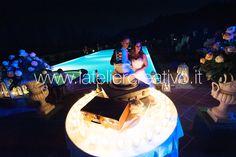 Matrimonio Silvia&James Wedding Cake a bordo piscina
