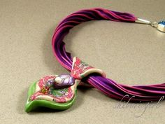 How to Make Shibori Silk Ribbon Necklace Kate Tracton and Glennis Dolce Shibori Girl