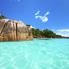Anse Lazio, Praslin Island, Seychelles #Seychelles #Africa #Travel