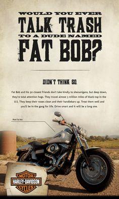 Talk Trash Fat Bob
