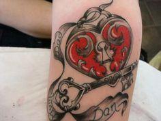 Key Tattoo Design By Ashnightk On Deviantart Lock And Key By