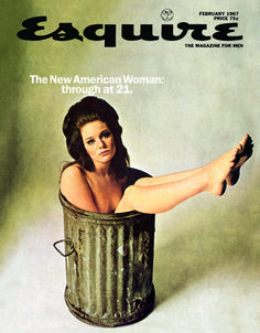 Esquire - New American Woman cover