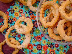 Biscoito de polvilho com chia sem lactose