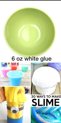 Need a good slime recipe? This is a list of the BEST slime recipes around. Whether you want 2 ingredient slime, chocolate slime, Kool-Aid Slime, Color-Changing Slime.or so many other options, this is the place you will want to hang out! Kool Aid, Fluffy Slime Recipe, Easy Slime Recipe, Shaving Cream Slime Recipe, Slime Craft, Diy Slime, Glue Slime, Borax Slime, Como Hacer Fluffy Slime
