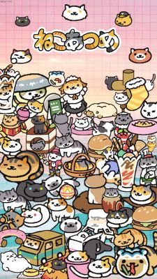 All the rare cats from Neko Atsume | Anime | Pinterest | Sky, All ...
