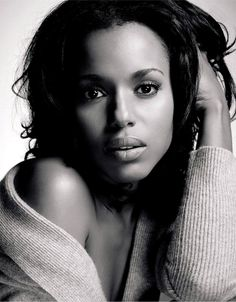 Kerry Washington im not really big on scandle but dat dont stop her from being amazing