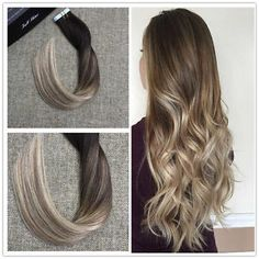 Babe tape in hair extensions hair pinterest tape in hair balayage tape in ombre hair extensions human hair balayage tape in extensions pmusecretfo Gallery
