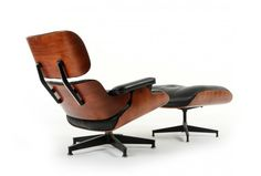 Eames Lounger 670 and Ottoman 671 from 1978 - Mr. Bigglesworthy Designer Vintage Furniture Gallery