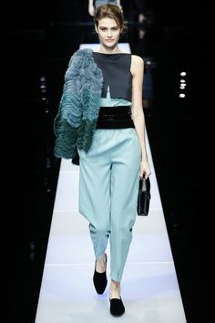Jumpsuits are in and everyone is on board, from Target to Couture you can rock out in the latest Jumper.   giorgio-armani-rtw-fw15-runway-37 – Vogue