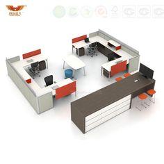 Foto de Estação de trabalho modular da mobília de escritório, divisória do escritório da estrutura de painel da tela em pt.Made-in-China.com