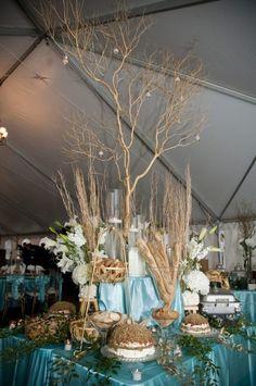 elegant buffet seated wedding reception nashville catering food great design @Beyond Details