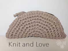 Knit and Love : Trapillo bag