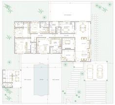 Projeto de casa de 4 quartos com 218.61m²