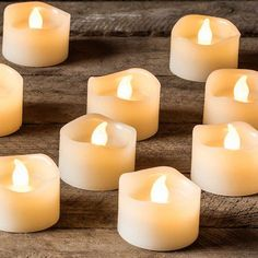 Amazing style with LED candle decoration. Led Candle Lights, Battery Candles, Votive Candles, Warm Home Decor, Diy Home Decor, Cream Candles, Autumn Home, Decorating Tips, Candle Holders
