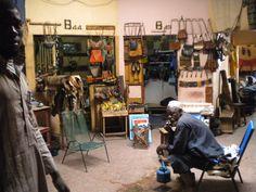 Mercado de artesanos en Bamako