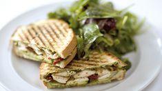 Chicken Teriyaki Sandwich vom Grill