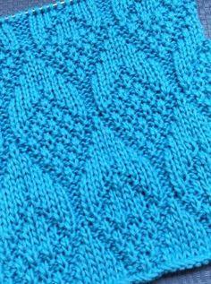 Knitting Patterns Free, Free Knitting, Fancy, Stitch, Crochet, Squares, Beautiful Patterns, Fantasy, Handarbeit