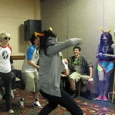 homestuck homestuck cosplay homestuck gif>>> I LOVE THIS PANEL!!