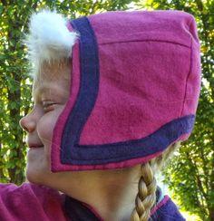 Disney Princess Anna hat pattern... coming soon at Joy2Sew.blogspot.com!