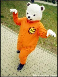 Bepo Cosplay - One Piece Cosplay Anime, Epic Cosplay, Male Cosplay, Awesome Cosplay, Anime Costumes, Cosplay Costumes, One Piece Cosplay, Dream Anime, Manga Books