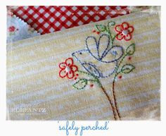 """Coming in month 4 of the Jenny of Elefantz """"Stitchery Club"""" - January 2015"""