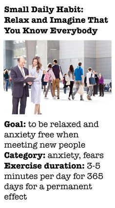 How to be anxiety free when meeting new people