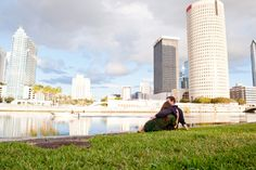 Real Engagement: Allison + Joey in Tampa // Images by Marissa Moss Photography // Via Modernly Wed (8)