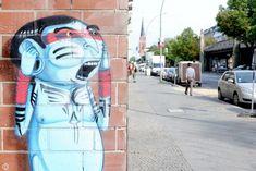Cranio street art in Berlin