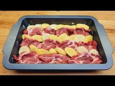 Rýchly obedový recept, zemiaky s mäsom, takto ste nevarili # 198 - YouTube Quick Lunch Recipes, Beef Dishes, Hawaiian Pizza, Eating Well, Bon Appetit, Entrees, Food And Drink, Menu, Cooking Recipes
