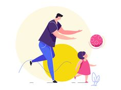 Family Time designed by Pawel Olek. Connect with them on Dribbble; Flat Design Illustration, Family Illustration, People Illustration, Illustrations, Character Illustration, Graphic Illustration, Tree Illustration, Motion Design, Kid Character