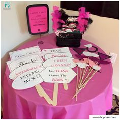 A simple camera, a cardboard cut-out or some printables and a few printed tags on wooden sticks can turn out to be really fun and cost-effective. You can also easily set up a self-explanatory photo station using an iPad and an Airprint-enabled printer. #DIYPhotoBooth #WeddingDIYs #BeAllYouCanBe