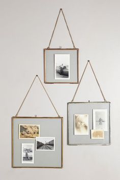 Hinged Hanging Mirror for the dining room Hanging Picture Frames, Diy Picture Frame, Glass Picture Frames, Hanging Mirrors, Floating Picture Frames, Hanging Family Pictures, Photo Frame Ideas, Hanging Photos, Diy Frame