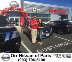 https://flic.kr/p/MqRBCG | Congratulations William Doss on your #Nissan #Versa from Keith Wisener at Orr Nissan of Paris! | deliverymaxx.com/DealerReviews.aspx?DealerCode=J476