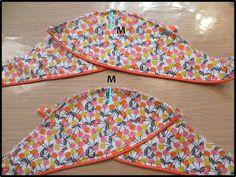 Petrol and Mint: Mara blouse - tulip sleeve tutorial Kurti Sleeves Design, Sleeves Designs For Dresses, Blouse Neck Designs, Sleeve Designs, Dress Sewing Patterns, Blouse Patterns, Clothing Patterns, Sewing Collars, Sewing Sleeves