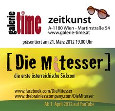 galerie time Flyer/Aufkleber  [Die Mitesser] Flyer, Youtube, Time Art, Sticker, Youtubers, Youtube Movies