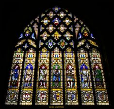Stained Glass Window In A Church. Knights Pictured In The Glass. --- My Gallery + All Work is Copyright ©2005-2007 Hitomii (SEH) All rights reserved. All the materials contained in my deviantA...