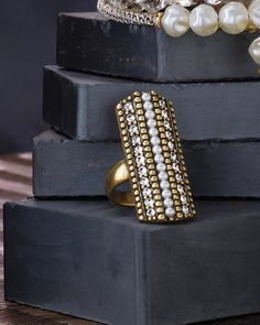 Pearls Night Out Ring | Jewelry by Silpada Designs