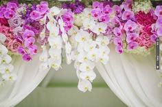 orchids at the altar | CHECK OUT MORE IDEAS AT WEDDINGPINS.NET | #weddings #weddingflowers #weddingbouquets #bouquets