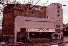 ABC cinema, Muswell Hill, London UK 27.01.78 North London, Old London, Abc Cinema, Mews House, London Transport, Property Development, London Street, England Uk, Old Photos