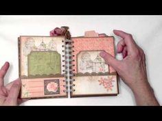 ▶ Bo Bunny Lil' Miss Pocket Page Mini Album - YouTube