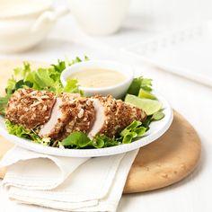 Avec son enrobage croustillant et délicieux, ce poulet est à la fois meilleur et plus sophistiqué que les bâtonnets de poulet traditionnels.