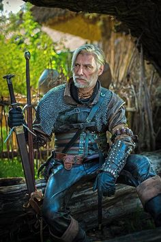 Fantasy Male, Fantasy Armor, Sci Fi Fantasy, Larp, Character Poses, Character Art, Character Design, Armadura Medieval, Witcher Art