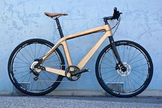 Wood bike blue | Flickr - Photo Sharing!